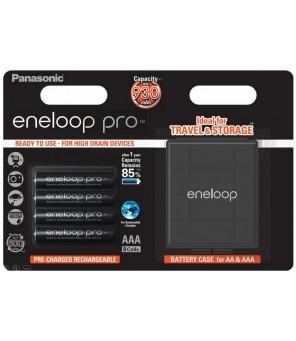 Panasonic Eneloop PRO 930mAh AAA akumuliatorius, 4 vnt. + dėžutė