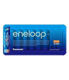 Panasonic Eneloop R6 AA 2000mAh BK-3MCCE/8LE, pakraunamos baterijos, 8vnt