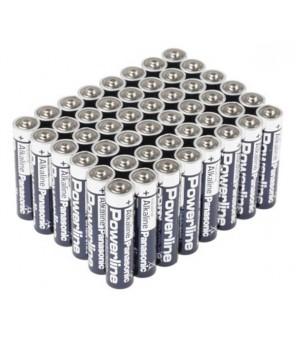 Panasonic Industrial Powerline AA LR6 baterijos, 40vnt