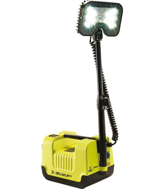 PELI 9455Z0 ATEX Zone 0 nešiojama mobili apšvietimo sistema