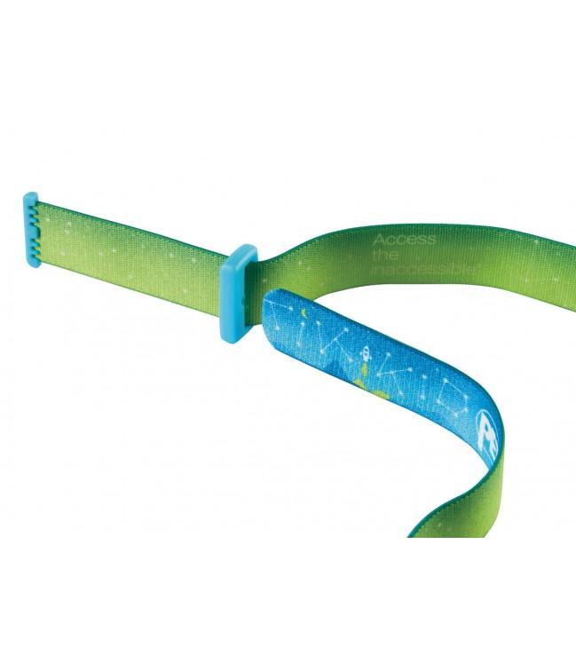 PETZL TIKKID vaikiškas žibintuvėlis ant galvos, mėlynas