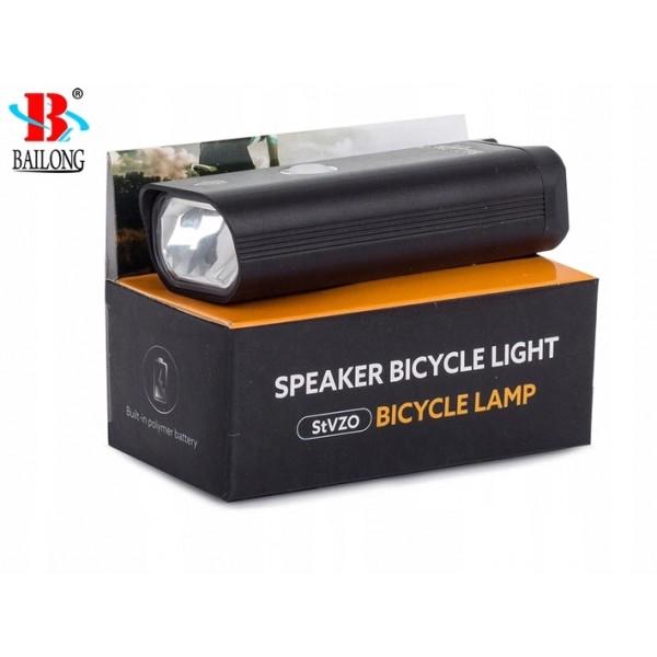 Priekinė dviračio lempa LED