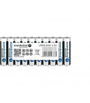 Šarminės AAA baterijos Pro Alkaline LR03 10 vnt