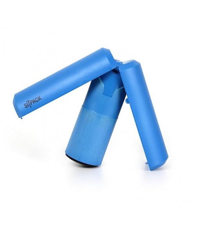 Sitpack 2.0 sulankstoma teleskopinė kėdutė, mėlyna