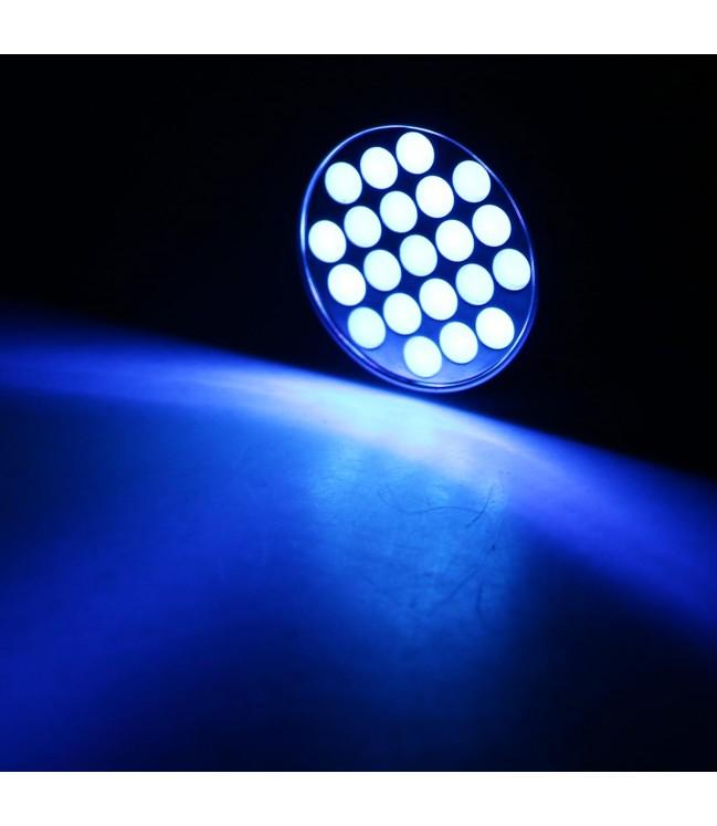 Ultravioletinis LED žibintuvėlis UVLED21