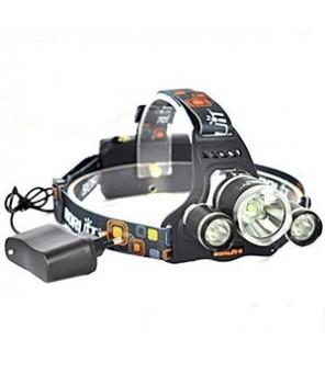 UV ir baltos šviesos prožektorius ant galvos