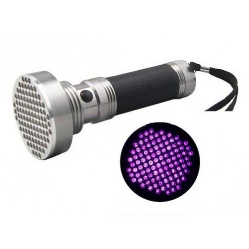 Ultravioletinis 100 UV LED prožektorius žibintuvėlis