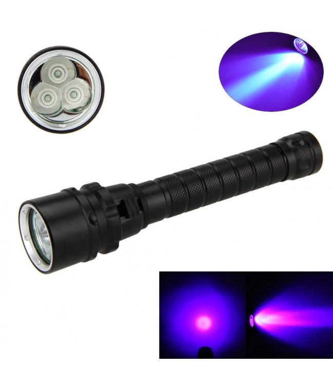 Ultravioletinis rankinis LED UV prožektorius 10W