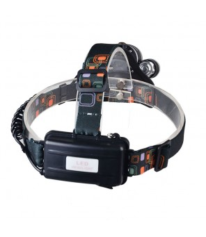 UV šviesos žibintuvėlis ant galvos UV LIGHT