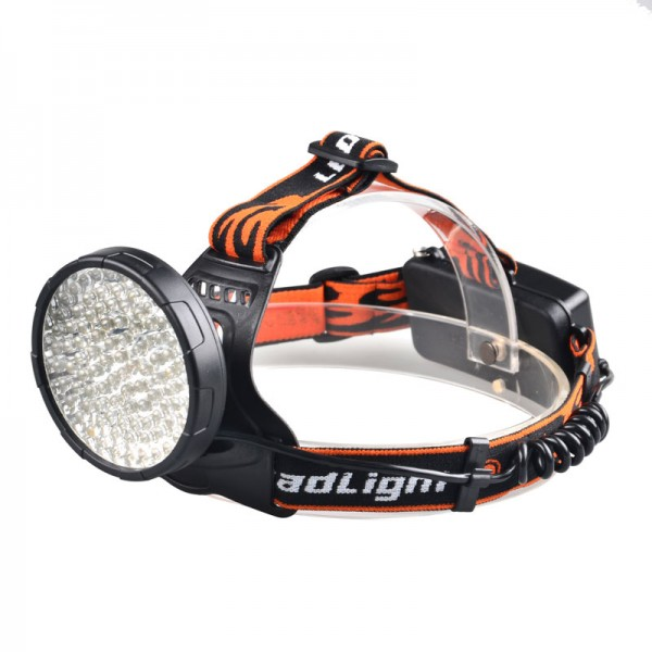 Žibintuvėlis ant galvos UV+balta šviesa