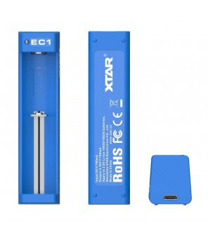 XTAR EC1 baterijų įkroviklis