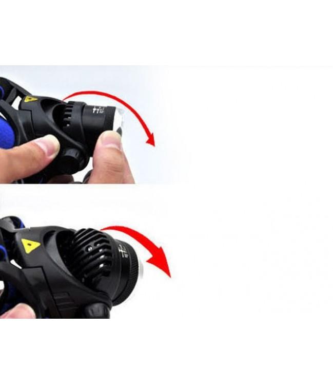 Žibintuvėlis ant galvos UV 4,5W AA